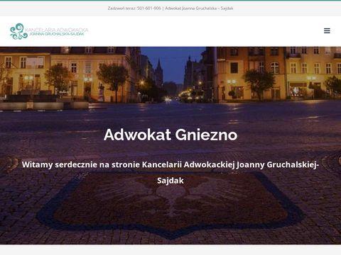 Adwokat Gniezno kancelaria.gruchalska-sajdak.pl