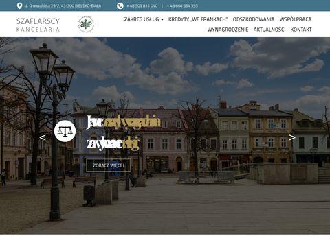 Kancelariaszaflarscy.pl adwokat Bielsko