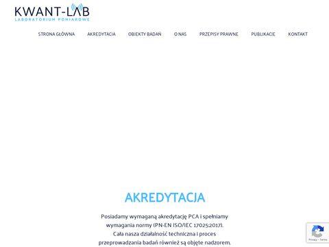 Kwant-lab.pl laboratorium akredytowane