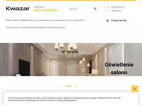 Kwazar-lampy.pl nowoczesne oświetlenie
