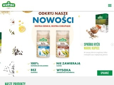 Kupiec.pl zdrowe przekąski dla każdego