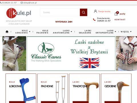 Kule.pl laska ortopedyczna