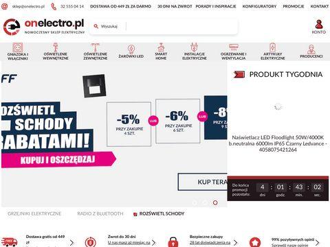Onelectro.pl sklep elektryczny Zawiercie