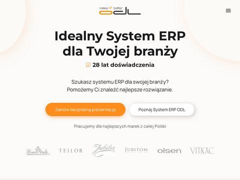 Odl.com.pl systemy ERP dla każdego