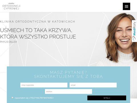 Ortodoncjacyfrowa.com.pl studio w Katowicach