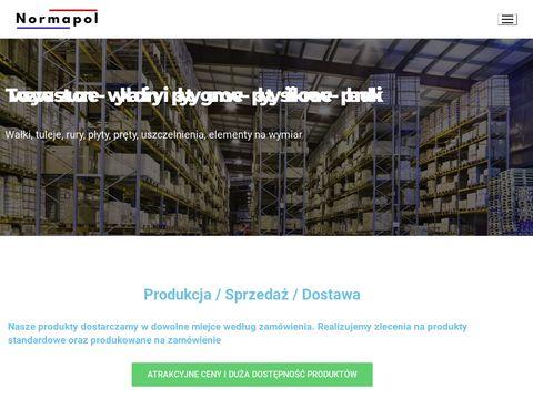 Normapol.pl wałki teflonowe PTFE