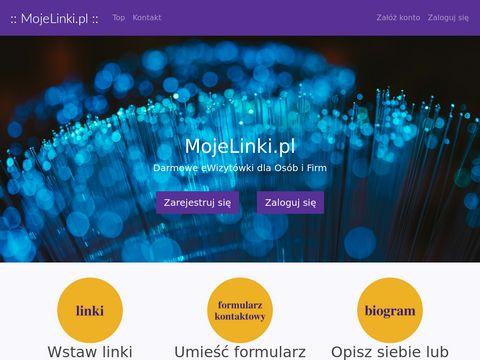 Mojelinki.pl darmowe ewizytówki dla osób i firm