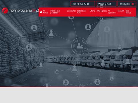 Monitorowanie24.pl monitoring GPS pojazdów