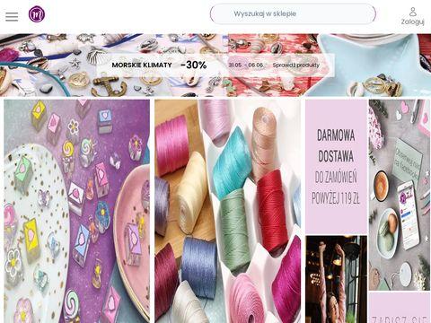 Manzuko.com półfabrykaty i koraliki sklep