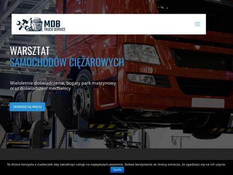 MDB Truck Service warsztat samochodowy Białystok