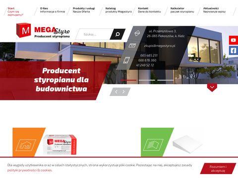 MegaStyro producent styropianu