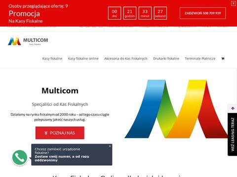Multicom.com.pl kasy fiskalne Bydgoszcz