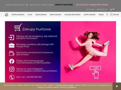 Lema24.pl sukienki damskie xxl