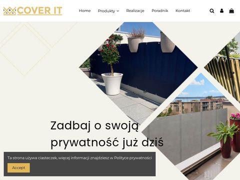 Cover-it.pl osłony na balustrady balkonowe
