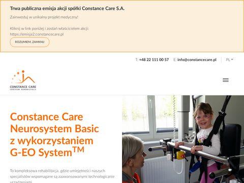 Constancecare.pl dobra klinika rehabilitacji