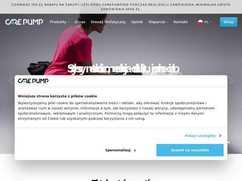 Carepump.pl maszyna do drenażu limfatycznego