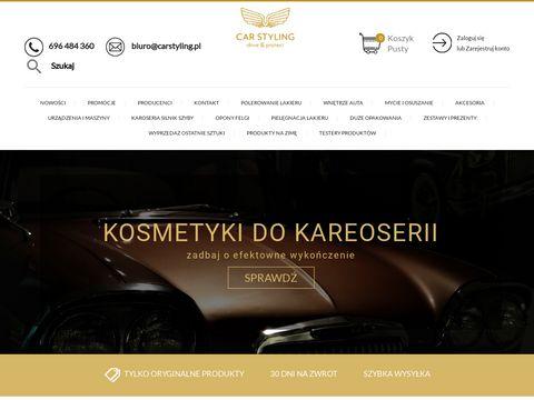 Carstylingshop.pl sklep z kosmetykami samochodowymi