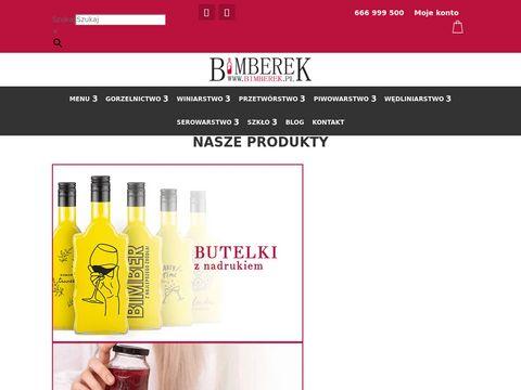 Bimberek.pl produkty do wyrobu wina nalewek