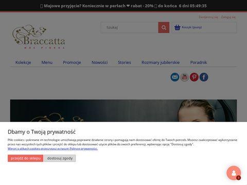 Braccatta.com pierścionki z markazytami