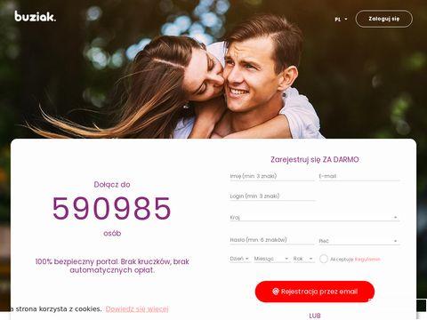 Buziak.pl portal randkowy