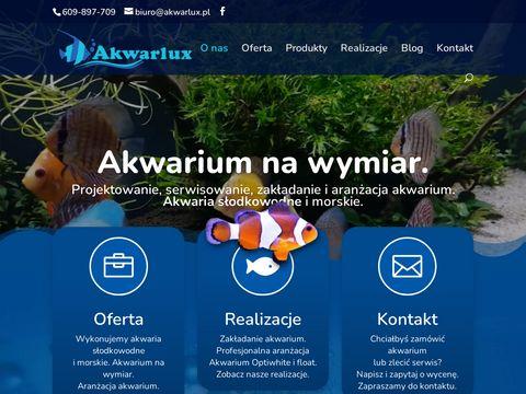 Akwarlux.pl zakładanie akwariów i aranżacja