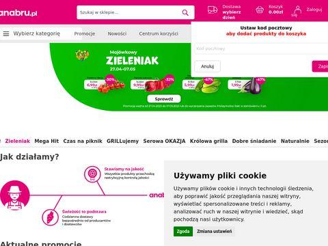 Anabru.pl sklep spożywczy online