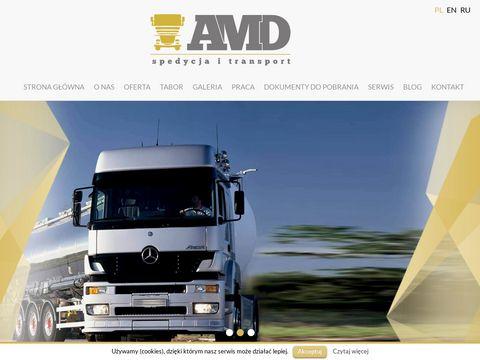 Amd.bialystok.pl transport międzynarodowy