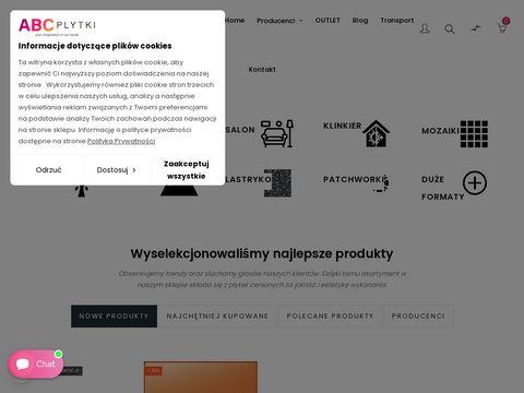 Abcplytki.pl kuchenne łazienkowe salon
