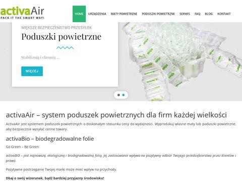 Activaair.pl wypełniacze do kartonów