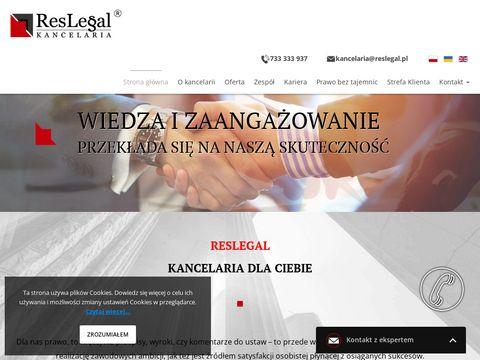 Reslegal kancelaria adwokat Rzeszów