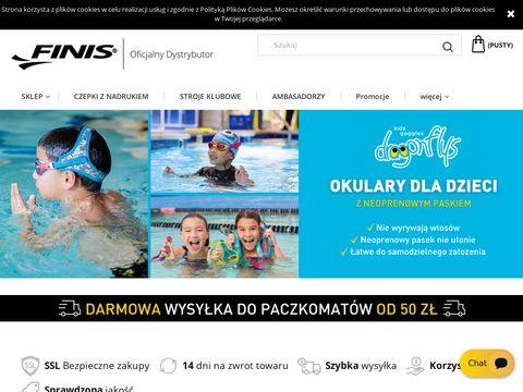 Finispoland.pl czepki do pływania