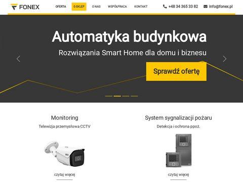 Fonex alarmy i monitoring