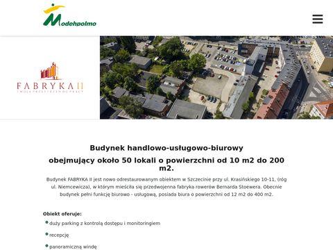 Fabryka2.modehpolmo.pl powierzchnie biurowe