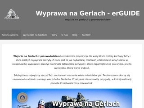 Erguide.pl wyprawa na Gerlach