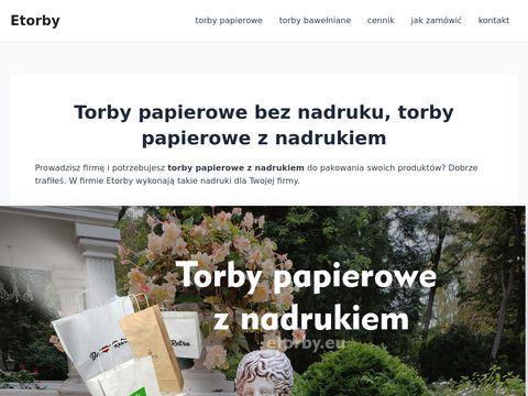 Etorby.eu bawełniane z nadrukiem Lublin