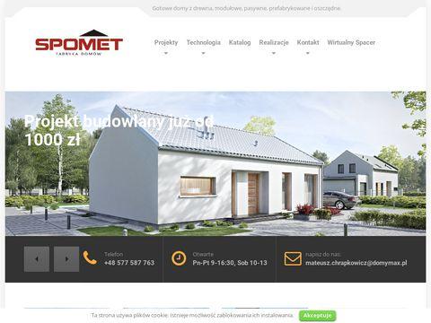 Domymax.pl fabryka domów Spomet