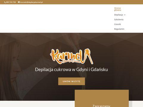 Fepilacjakarmel.pl gabinet kosmetyczny Karmel w Gdyni