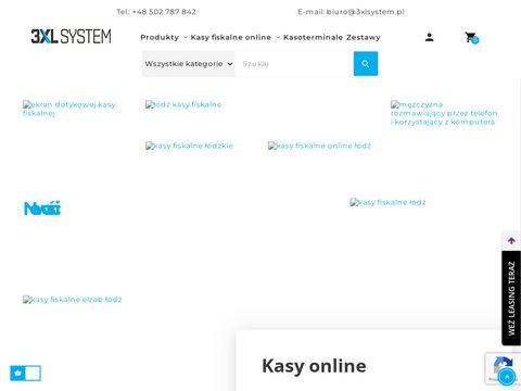 3xlsystem.pl kasy fiskalne Łódź