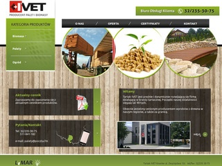 IVET producent palet