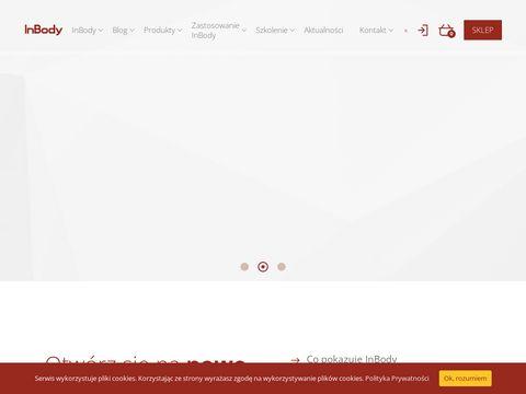 Inbodypoland.pl analizatory składu masy ciała
