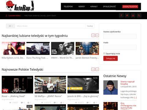 Inforap.pl - muzyka Rap i Hip-Hop