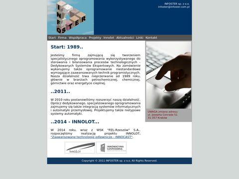 INFOSTER - oprogramowanie dla przemysłu