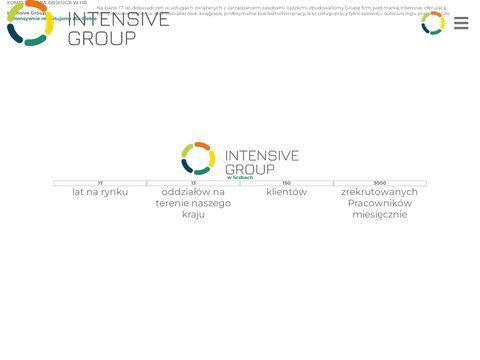 Intensive-group.pl praca za granicą