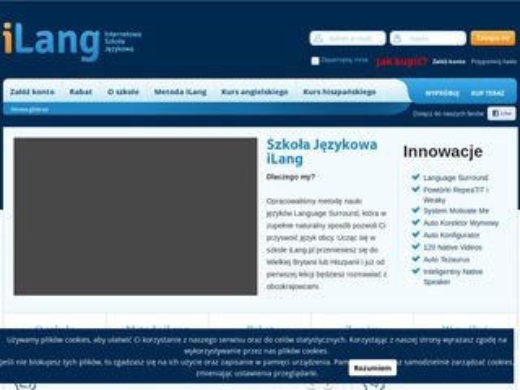 iLang Internetowy kurs angielskiego