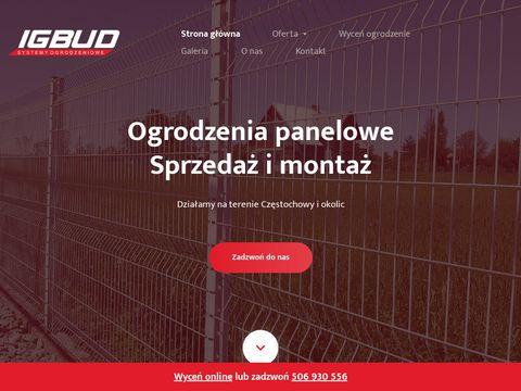 Igbud-ogrodzenia.pl - siatka ogrodzeniowa Śląsk