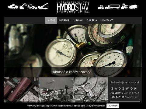 Hydrostav.pl serwis hydrauliki siłowej Białystok
