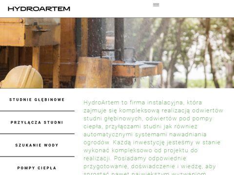Hydroartem.pl wiercenie studni głębinowych