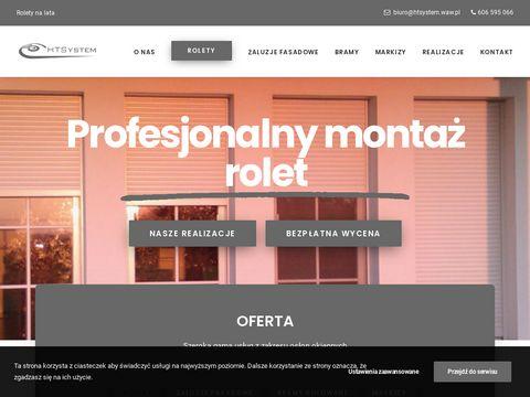HTSystem Rolety zewnętrzne wysokiej jakości, Lublin