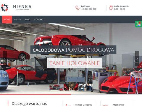 Hienka pomoc drogowa 24h Kraków