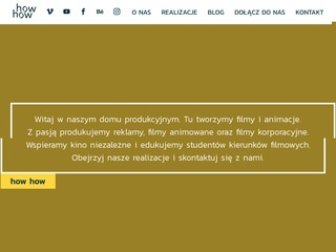 Howhow.pl filmy korporacyjne produkcja